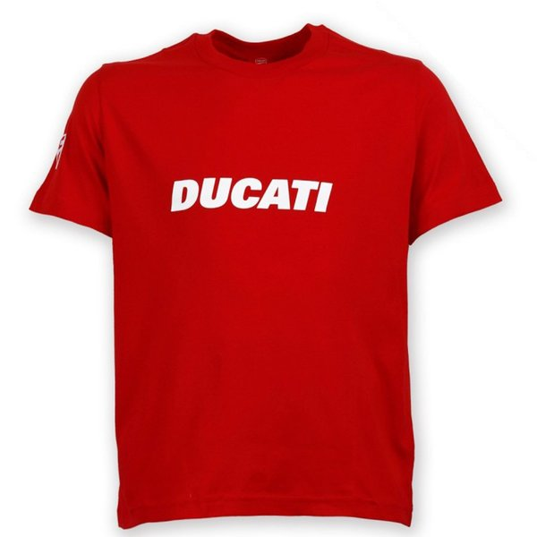 ducati ducatiana t shirt red ducati shop. Black Bedroom Furniture Sets. Home Design Ideas