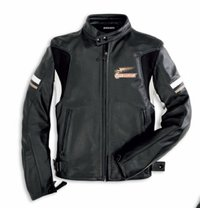 Ducati Eagle leather jacket Vintage-Look Dainese