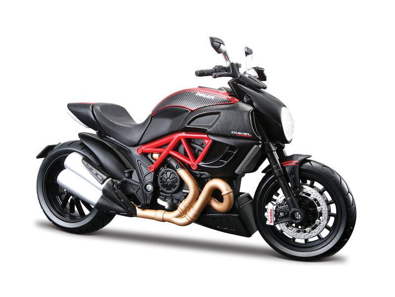 Ducati Diavel Bike Model Maisto 118