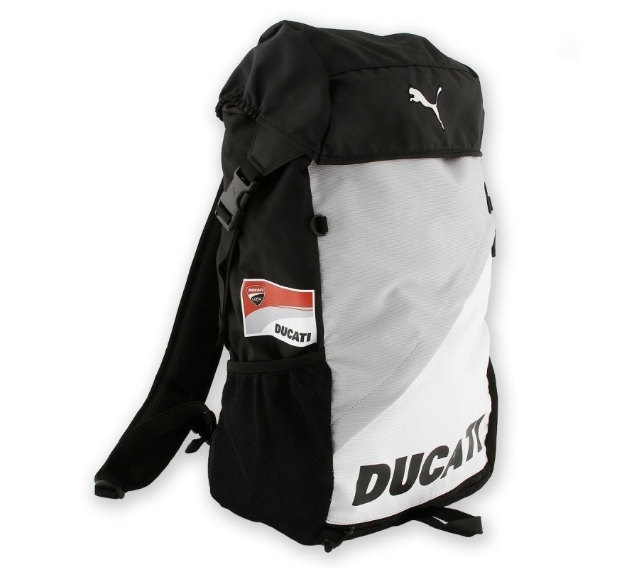 ducati backpack puma team 39 12 rucksack wei schwarz neu. Black Bedroom Furniture Sets. Home Design Ideas