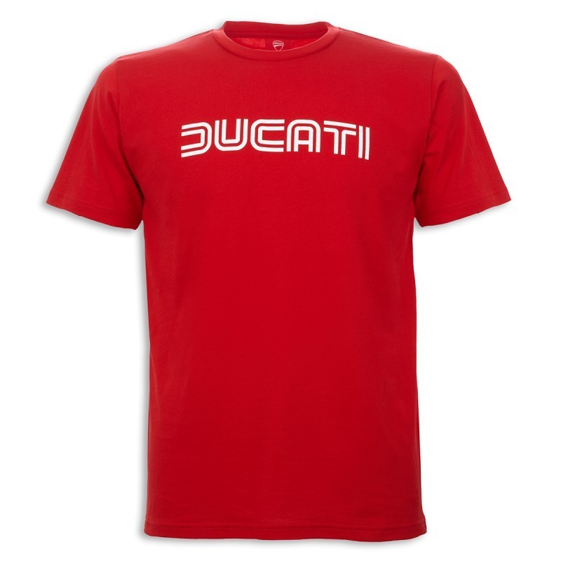 ducati 14 graphic ducatiana short arm t shirt red round neck. Black Bedroom Furniture Sets. Home Design Ideas