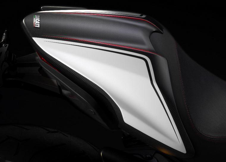 ducati monster 1200 821 pillion seat cover carbon fiber new