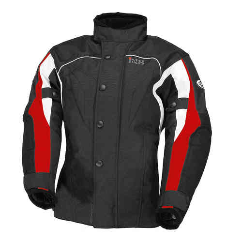 IXS Jamie 2 children textile jacket water barrier black motocycle