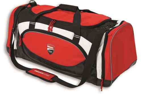 Ducati Corse Gym Bag black white red sport bag