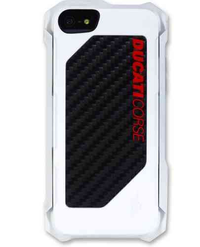 Ducati Corse Rogue Handy Hülle Cover iPhone 5 / 5S Carbon Weiß