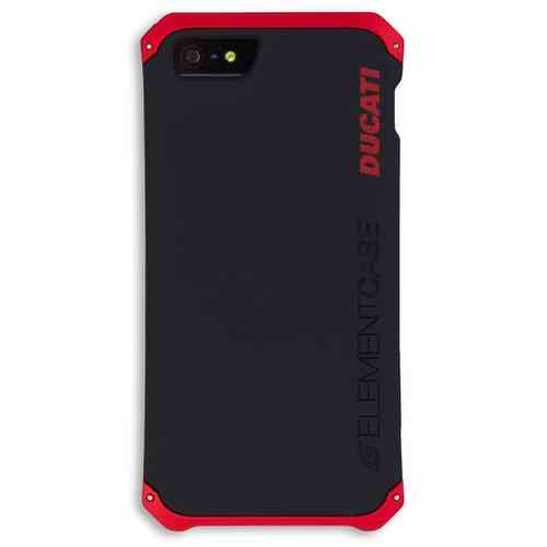 Ducati Solace Case Cover iPhone 5/5s Handy Hülle schwarz rot