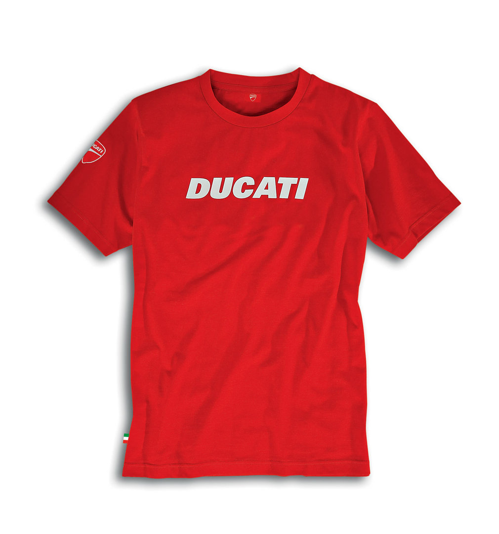 ducati ducatiana 2 t shirt men short sleeve red. Black Bedroom Furniture Sets. Home Design Ideas