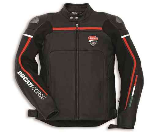 Ducati Corse C2 leather jacket dainese black 2015