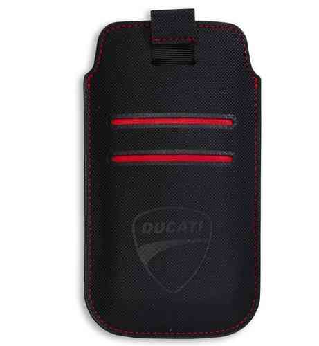 Ducati Soft-Tec Element Case iPhone5/s Galaxy S3/4S schwarz rot