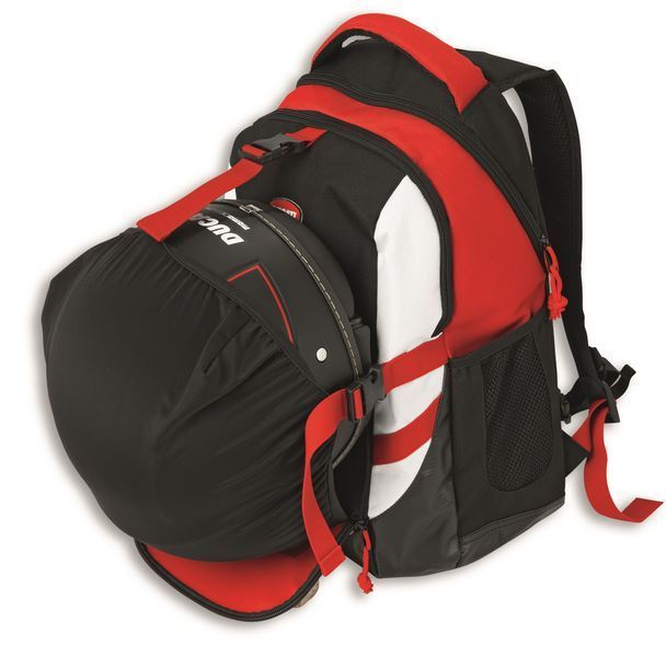 e85aae4426 ... Ducati Corse 2015 backpack with removable helmet bag