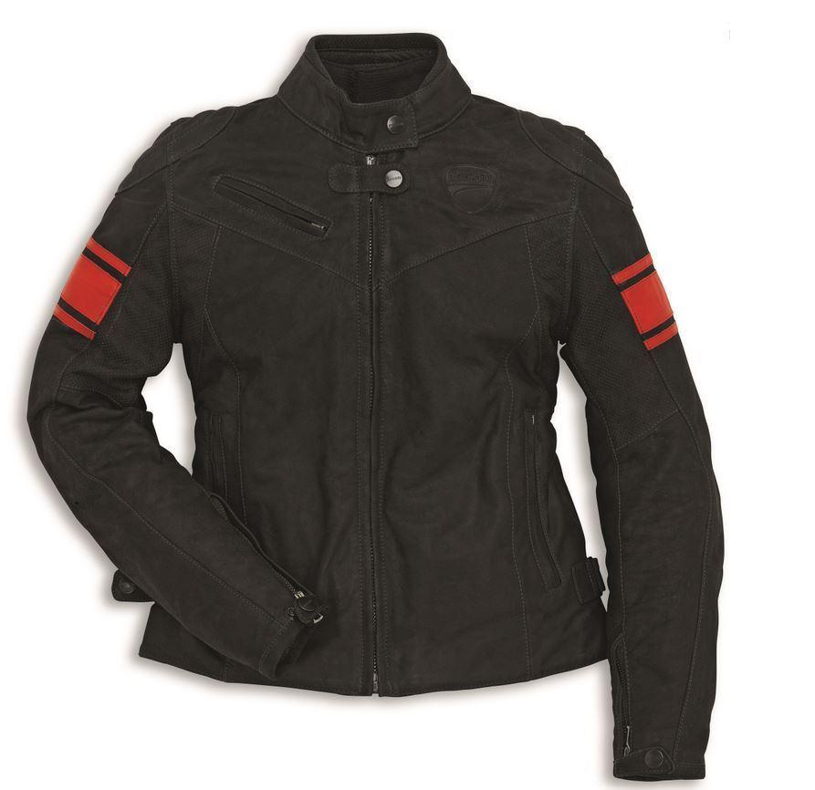 Damen 15 Rot C2 Leder Dainese Jacke Schwarz Ducati fYb6yvmI7g