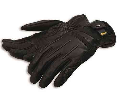 Ducati Scrambler Street Master gloves C2 leather Spidi black