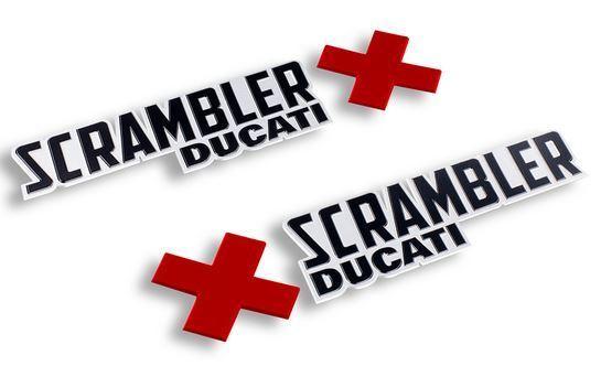 Ducati Sticker Tank Set Of Scrambler Urban Enduro Logos
