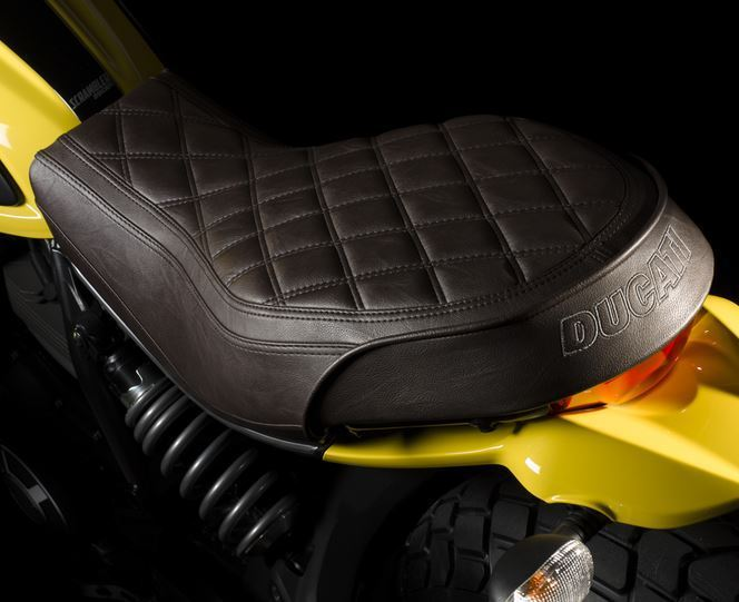 ducati scrambler classic sitzbank braun. Black Bedroom Furniture Sets. Home Design Ideas