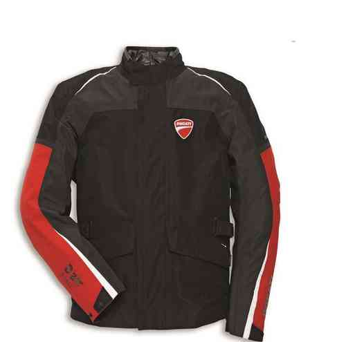 Ducati Dainese D-air Street Stoff Jacke Airbag Goretex System