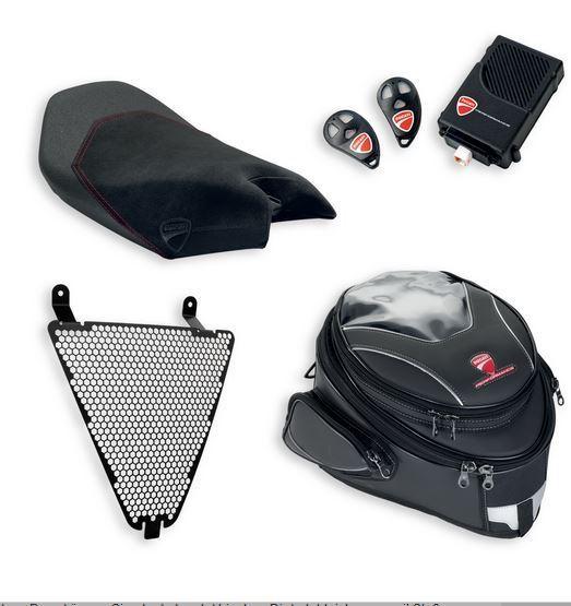 Ducati Superbike 899 1199 1299 Panigale Seat Tank Bag