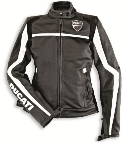 Ducati Dainese twin lady woman leather jacket motorcycle