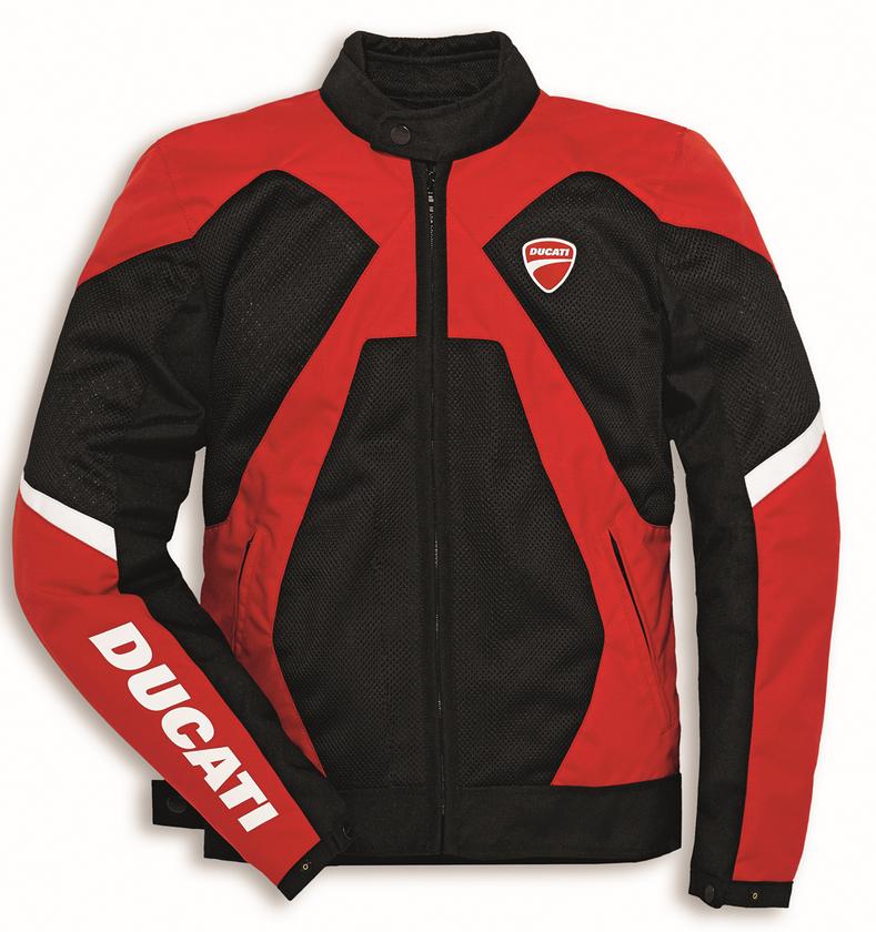 Ducati Summer 2 Vented Textile Motorcycle Spidi Jacket Red Black 981031644 Ebay