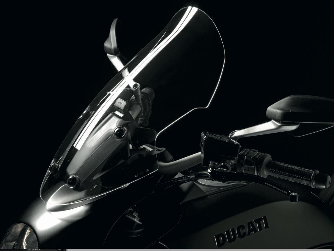 Ducati Diavel Touring Windscreen