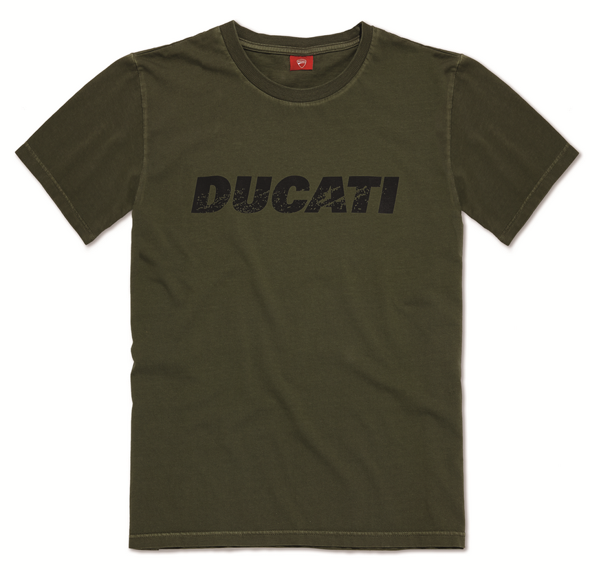 ducati vintage logo herren motorrad rundhals t shirt neuheit. Black Bedroom Furniture Sets. Home Design Ideas