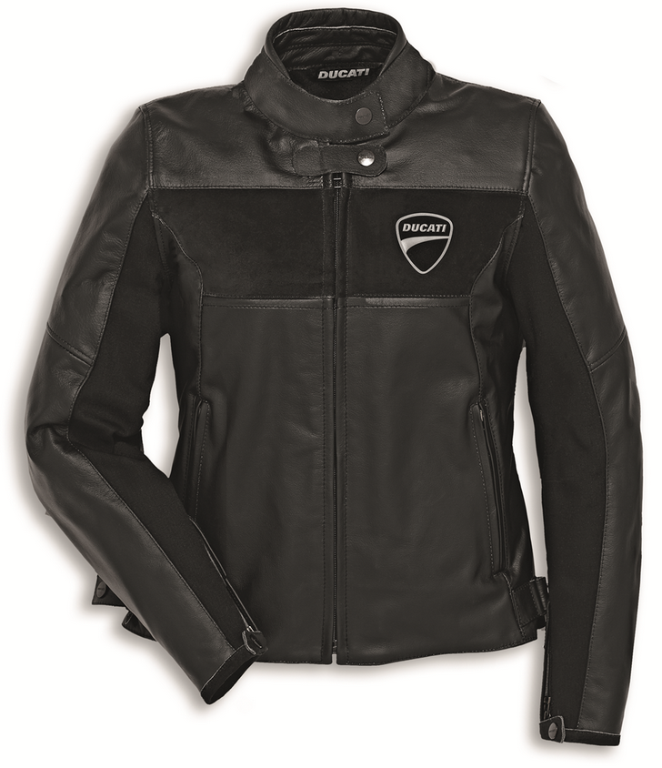 ducati dainese company c2 women 39 s leather jacket. Black Bedroom Furniture Sets. Home Design Ideas