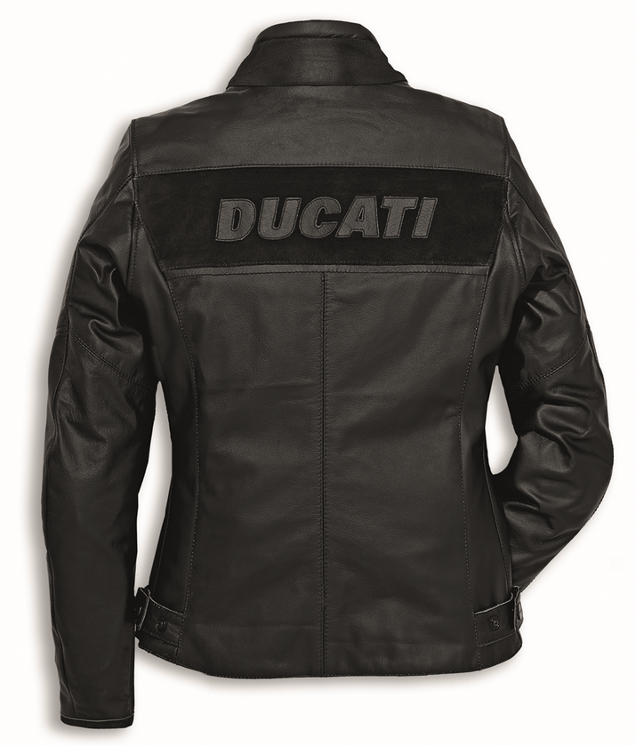 ducati dainese company c2 women motorcycle leather jacket new
