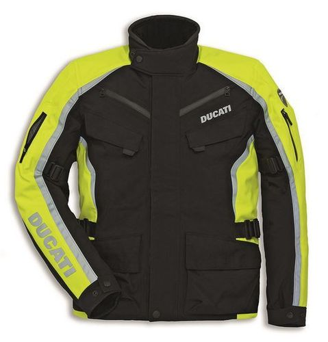 Ducati Giacca Tour HV Fabric jacket motorcycle