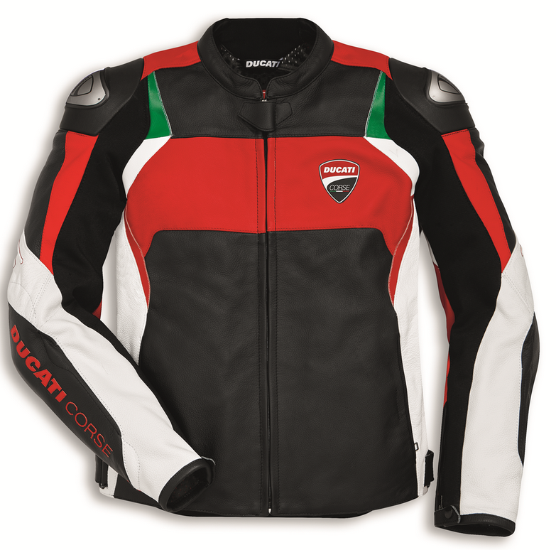 ducati dainese corse c3 motorcycle leather jacket for men new