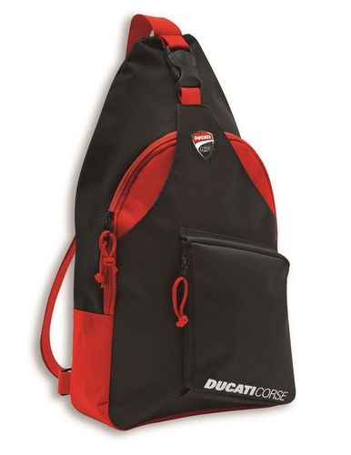 Ducati corse DC sketch sling motorcycle backpack