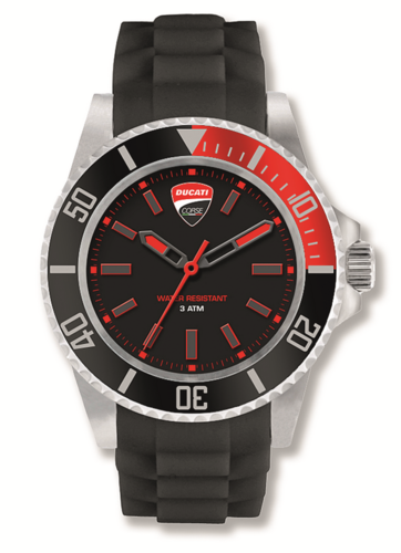Ducati Corse race waterresistant quartz watch for men
