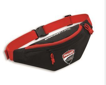 Ducati corse DC sketch sling hip pocket black/red