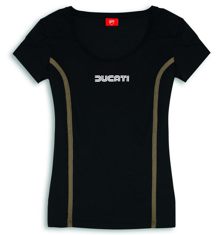 ducati iom 78 damen kurzarm baumwoll t shirt neu. Black Bedroom Furniture Sets. Home Design Ideas
