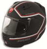 Ducati Arai rebell red line full face helmet black