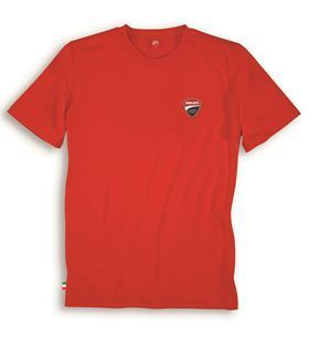 Ducati T-Shirt kurzarm DC Ducatiana Racing 17 Basic rot