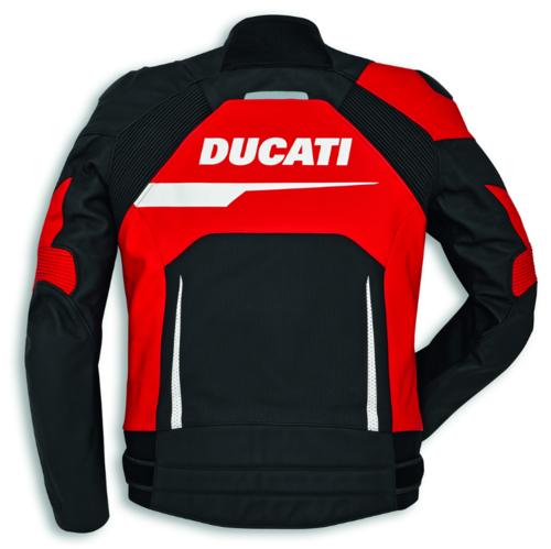 Black Alpinestar C1 Leather Jacket Ducati Evo Speed Men CBerxdoW