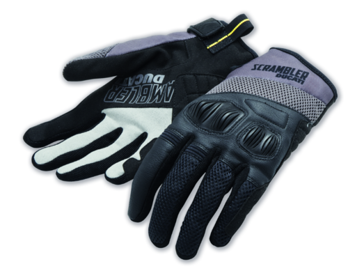 Ducati Scrambler Overland 2 motorcycle fabric gloves