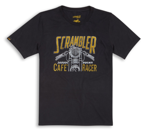 Ducati Scrambler cafe racer - The Racer- men t- shirt